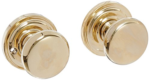 Baldwin FDROUTRR003 Reserve Full Dummy Lockset x Round with Traditional Round Rose in Lifetime Brass ()