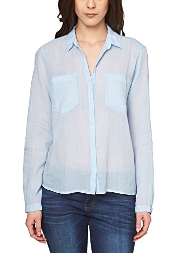 s.Oliver 14.503.11.3687 - Blusa Mujer Blau (pastell blue 5302)