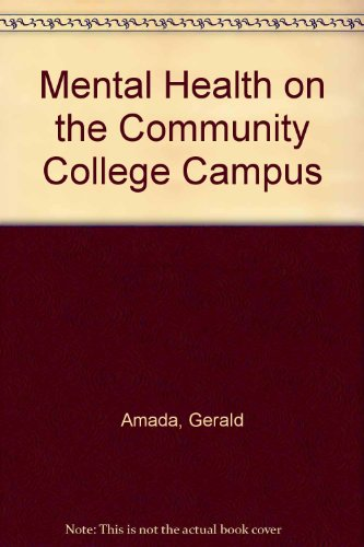 Mental Health on the Community College Campus