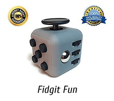 Fidget Fun Sensory Fidget Toy | Fidget Cube Promotes Stress and Anxiety Relief for ADHD, Autism, ADD | Encourages Calm & Focus for Kids and Adults