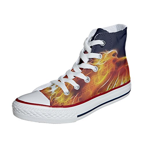 Converse produit Converse Chaussures artisanal Star All All Fire Coutume rZxUrqv7