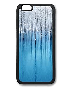 Black Case for iphone 5c,Fashion Cool Art Winter Custom Protective Soft TPU Back Case Cover for iphone 5c