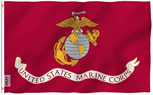 Anley [Fly Breeze 3x5 Foot US Marines Corps Flag - Vivid Col