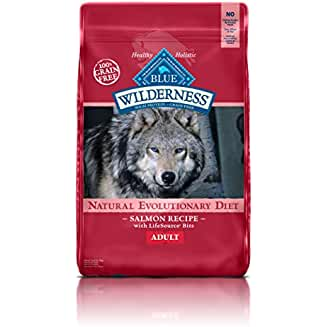 Wilderness Blue Buffalo High Protein Dry Adult Dog Food (our top alternative to the Best High Fiber Dog Food)