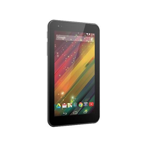 """HP 7 Plus G2 1331 8 GB Tablet - 7"""" - In-plane Switching (IPS) Technology - Wireless LAN - T-Mobile - 4G - Intel Atom Z2520 1.20 GHz - Silver - 1 GB RAM - Android 4.4.2 KitKat - HSPA+, LTE - Slate - 1024 x 600 Multi-touch Screen Display - Bluetooth K1N04UA#ABA"""