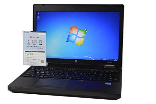 ノートパソコン 【OFFICE搭載】 HP ProBook 6570b 第3世代 Core i5 3210M HD+ (1600×900) 15.6インチ 4GB/320GB/DVDROM/WiFi対応無線LAN/Webカメラ/テンキー付フルキーボード/Windows 7 B07N833C3Q, Zafiroco 0582ec7f