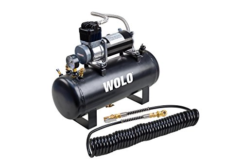Wolo (858 Tornado Heavy-Duty Compressor with 2.5 Gallon Capacity Tank