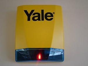 yale dummy siren box square realistic dummy alarm box. Black Bedroom Furniture Sets. Home Design Ideas