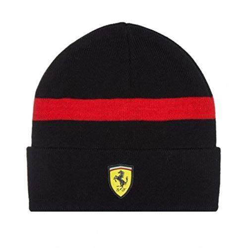 Ferrari Beanie - Scuderia Ferrari Formula 1 Black Knitted Beanie
