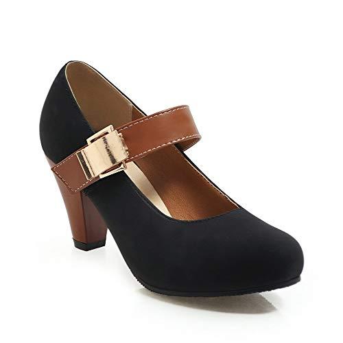 pour femme U compensées Lyvn noires sandales qrwpwInX