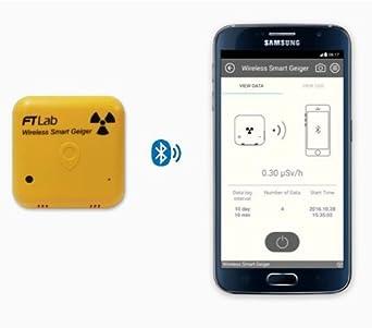 SMART INALÁMBRICO CONTADOR GEIGER RADIACIÓN METER PARA SMARTPHONE iOS SMW: Amazon.es: Industria, empresas y ciencia