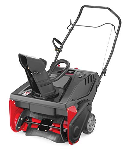 Craftsman 179cc Electric Start Single Stage Gas Powered Snow Blower with 21-Inch Clearing Width (Snow Blower Gas Powered)