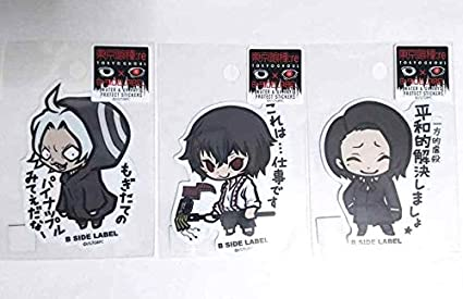 Amazoncom Tokyo Ghoul Re Sticker X3 Juzo Suzuya Owl