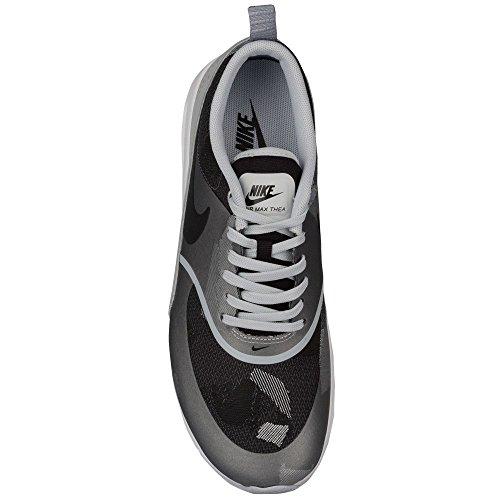 Womens Nike Air Max Thea Jcrd Platino Puro / Nero-grigio Lupo
