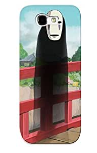 New Cute Funny Noface Spirited Away Case Cover/ Galaxy Note 2 Case Cover For Lovers