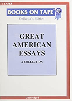 great american essays collection com books great american essays