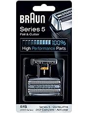 Braun 51S, Series 5, vervangende scheerkop scheerapparaat, zilver