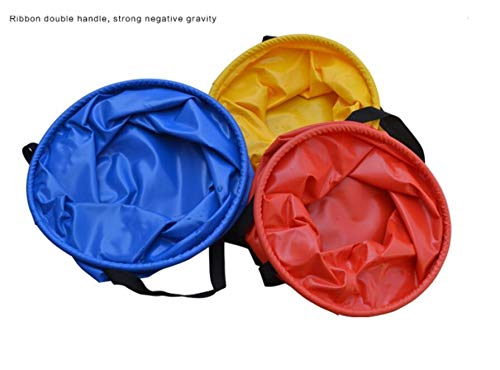 pinjewelry Outdoor Collapsible Portable Travel Wash Basin Folding Bucket for Hiking Washing