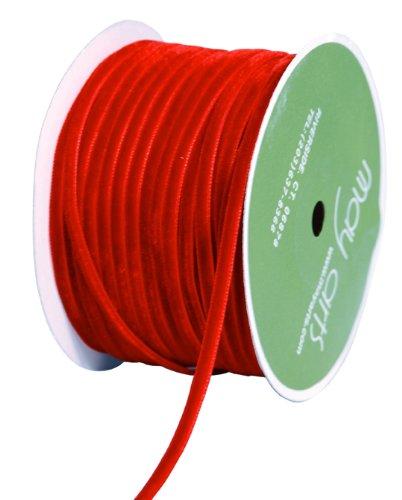 Velvet Ribbon Trim - May Arts Velvet Ribbon 1/8