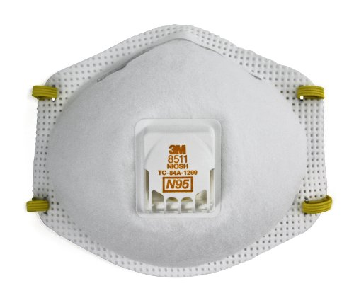 3M Particulate Respirator 8511, N95 (Pack of 80) by 3M Personal Protective Equipment