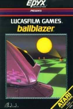 Ballblazer (Atari 8-Bit, 5 1/4