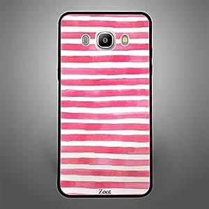 Samsung Galaxy J5 2016 Pink White stripes