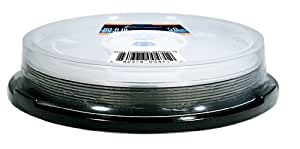 Optical Quantum OQBDRDL06WIPH-10 6X 50 GB BD-R DL White Inkjet Printable Blu-Ray Double Layer 10-Disc Spindle