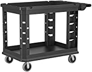 "AmazonCommercial Heavy Duty Utility Cart, 26"" x 45"", 500 lb"