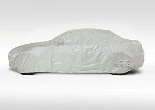 Cover Zone Voyager Water UV Resistant Tailored Automobile Cover With Window Pockets To Fit Audi BMW Chevrolet Chrysler Ford Honda Civic Kia Mazda Mercedes MG Mitsubishi Seat Subaru Toyota Vehicle