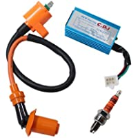 Poweka New Pack Of Racing Ignition Coil, 5 Pins CDI Box ,...