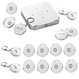 iHomeware CoinGuard Vibration Alarm System Kit, Wireless Zigebee Home Security, Beaconx4 Vibration Sensor×12 and Gateway