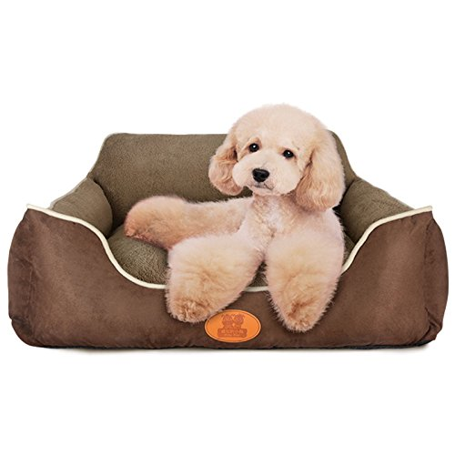 F 75x60x23CM F 75x60x23CM RUNWEI Teddy Kennel Removable and Washable Pet Nest Four Seasons Universal Pet Mat Double-Sided Available Bed (color   F, Size   75x60x23CM)