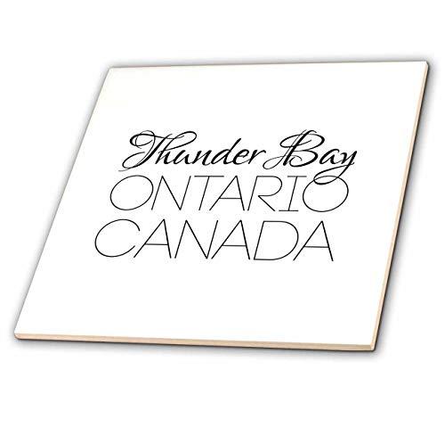 3dRose Alexis Design - Canadian Cities - Thunder Bay Ontario, Canada. Chic, Unique Patriotic Home Town Gift - 8 Inch Ceramic Tile (ct_304853_3)