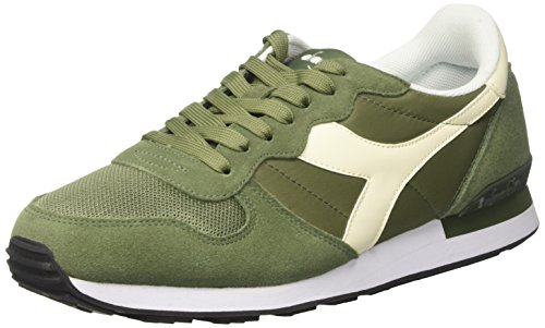Diadora Herren Camaro Gymnastikschuhe, Grün (Verde Olivina/Bianco Sospiro)