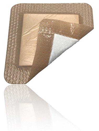 Shape Sacral (MedVanceTM Silicone - Bordered Silicone Foam Dressing, 7