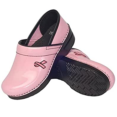 Breast Cancer Awareness - Pink Breast Cancer Dansko Clogs