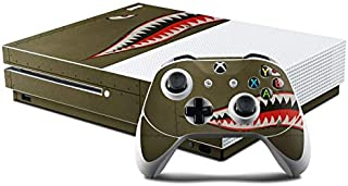 product image for USAF Shark Protector Skin Sticker Compatible with Microsoft Xbox One S Console and Controller Kit - Ultra Thin Protective Vinyl Decal Wrap Cover