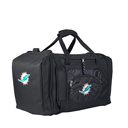 NFL Miami Dolphins Roadblock Duffel (Miami Gym Bag)