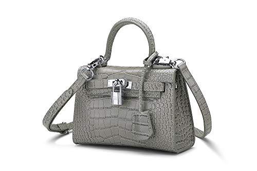 Single Female Bao Pattern Female Hand Hongge Bag Crocodile Bag Held Shoulder Fashion Leather D Female TqRS75