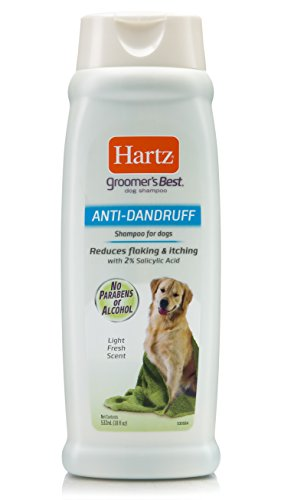 Hartz Groomers Best Anti-Dandruff Dog Shampoo