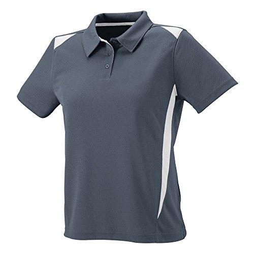 Manches Sportswear Femmes Pour Augusta Multicolore Graphite shirt Longues white À T Premier Sport 8aWqqrwYdz