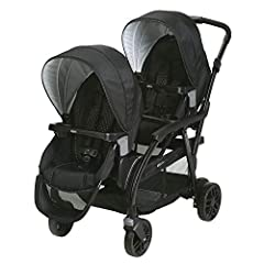 The most versatile double stroller. With 27 riding options, from infant to youth, you can configure this stroller for the best fit for your growing family. The Modes Duo Stroller accepts TWO GracoClick Connect Infant Car Seats, connecting wit...