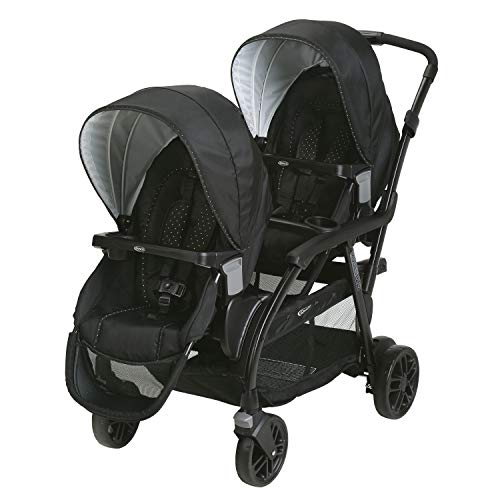 Graco Modes Duo Double Stroller | 27 Riding Options for 2 Kids, Balancing Act (Double Stroller For Newborn And 2 Year Old)