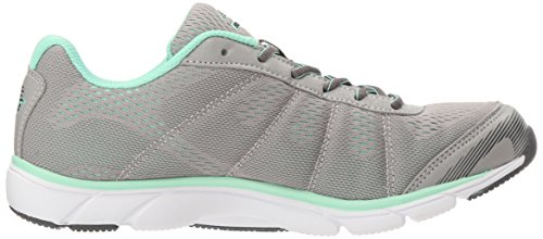 Avia Frauen Avi-Rove Sneaker Pinguin Grau / Mint Breeze / Stahlgrau