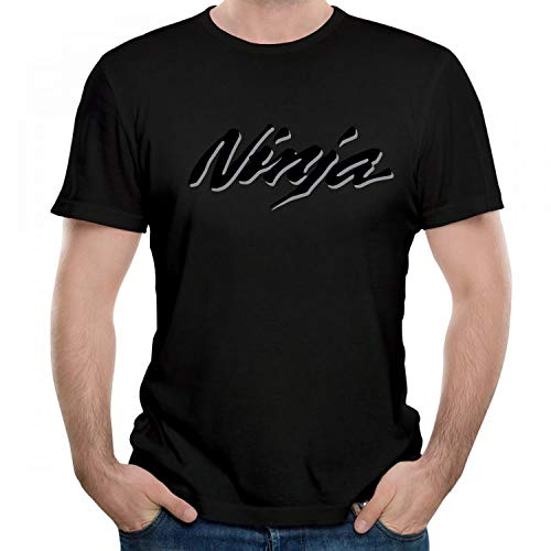 Kawasaki Ninja 400 Motorcycles Graphic Men's/Unisex T-Shirt O-Neck Short Sleeve Tees Black L