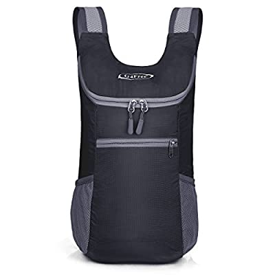 G4Free Small Packable Shoulder Backpack Lightweight Hiking Daypacks Small Casual Foldable Camping Outdoor Bag for Adults Kids 11L