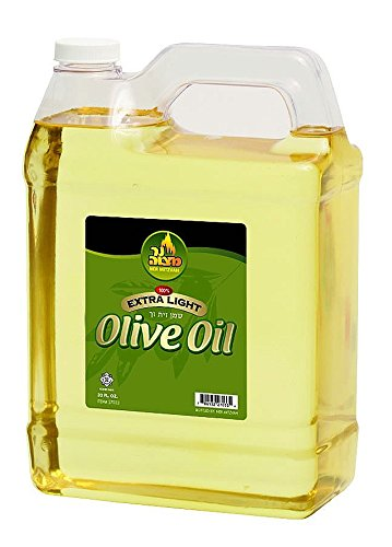 1 Gallon Extra Light Olive Oil by Ner Mitzvah