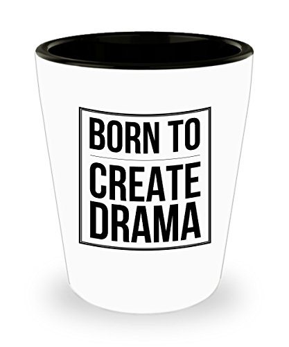 Born To Create Drama : Ideal Romantic Valentines Day, Birthday, Christmas or Thank You Gift for your Wife, Girlfriend, Special Someone, Actor or Actre