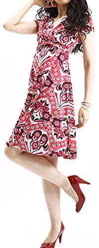 Parolari Emilio Pucci Pink A-line Dress, Large, Made in -