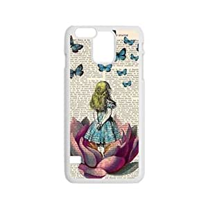 Lovely girl and butterfly Cell Phone Case for Iphone 6
